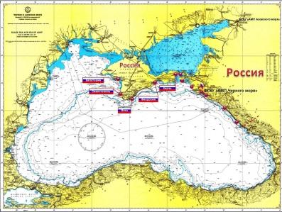 Порты Крыма на лоции