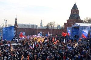 st1_Митинг в честь воссоединения Крыма с Россией Москва